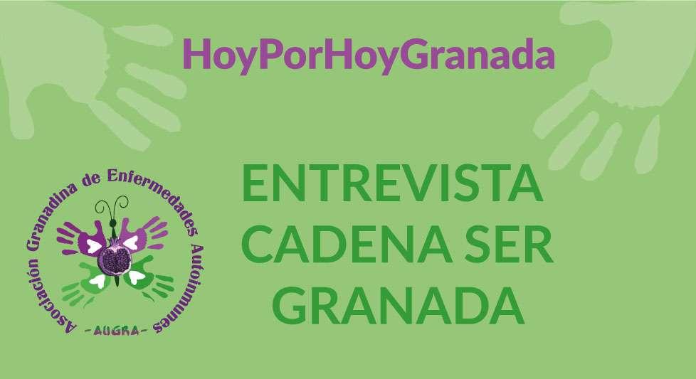 Entrevista Cadena Ser Granada – Hoy por hoy 22 julio 2020